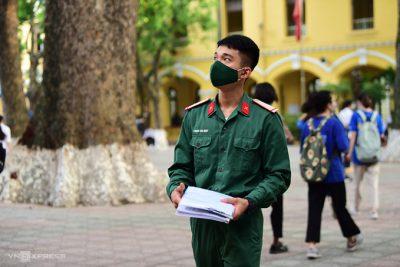 Thí sinh thi vào trường quân đội đăng ký xét tuyển thế nào?